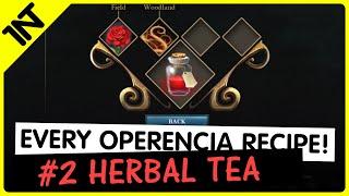 Operencia: The Stolen Sun Herbal Tea Recipe #2