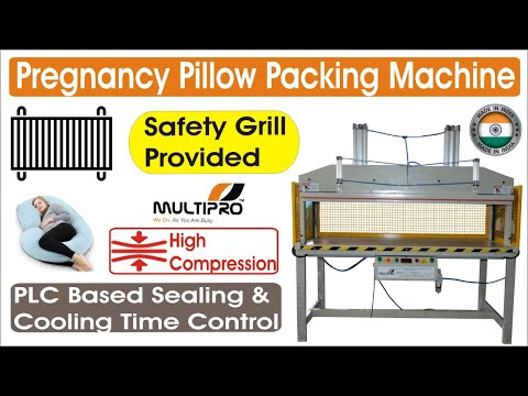 Multipro Pregnancy Pillow Packing Machine / C Shape Pillow Packing Machine