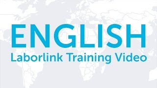 Laborlink Training Video (English)