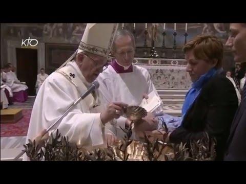 Messe et baptêmes d'enfants