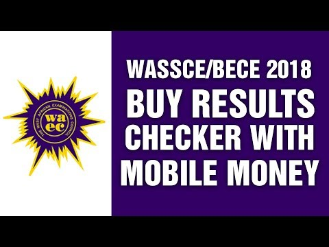 WASSCE/BECE 2018: How To Buy RESULTS CHECKER With MTN MOBILE MONEY