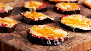 Cheesy Eggplant Pizza