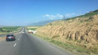 ДТП возле перевала Машат. Казахстан