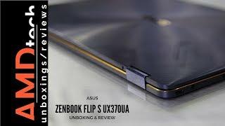 Asus ZenBook Flip S UX370UA:  Unboxing & Review