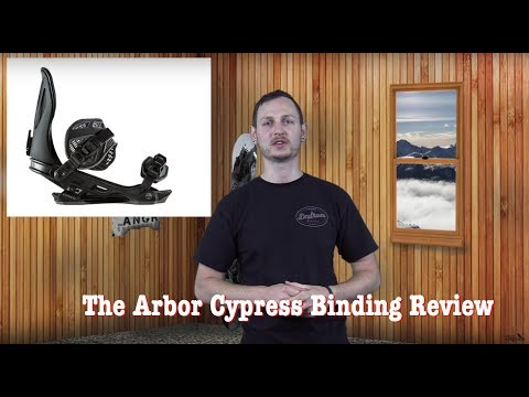The 2019 Arbor Cypress Snowboard Binding Review