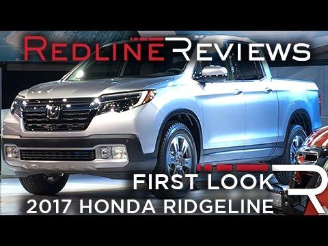 2017 Honda Ridgeline – Redline: First Look – 2016 Detroit Auto Show