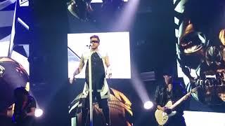 20160115 Adam Lambert TOH - Intro/Evil In The Night/FYE @ EX Theater in Tokyo