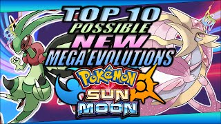 Top 10 Possible New Mega Evolutions For Pokémon Sun And Moon