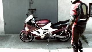 Kawasaki ZZR 600 Movie FULL 2010