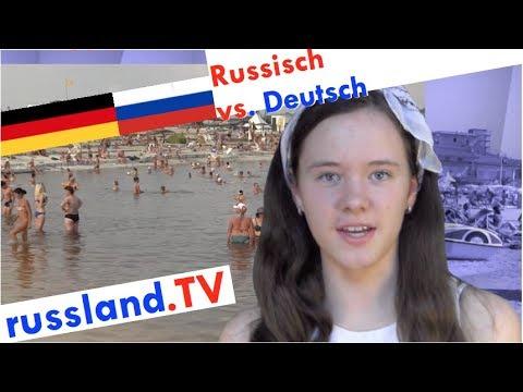 Russisch vs. Deutsch: Urlaub im Ausland! [Video]