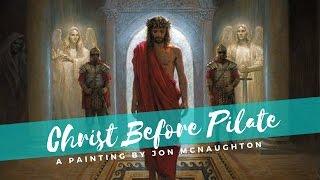 Christ Before the Crucifixion - Jon McNaughton