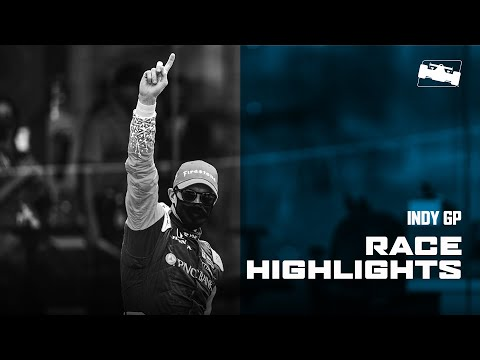 インディカー 第2戦 GMR GRAND PRIX インディカー・インディアナポリス レースハイライト動画