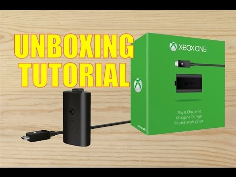Unboxing-Tutorial  Kit de carga para mando Xbox One
