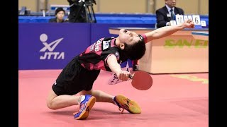 Tomokazu Harimoto - KING CHAMPION MASTER OF TABLE TENNIS TOPSPIN ATTACK - BEST PLAYER POWER POINTS