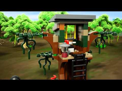 Vidéo LEGO City 60071 : L'arrestation en hydroglisseur