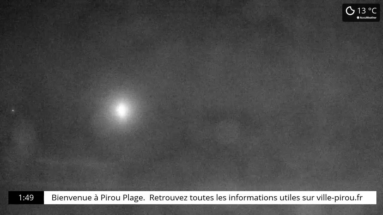 Webcam en direct de Pirou plage