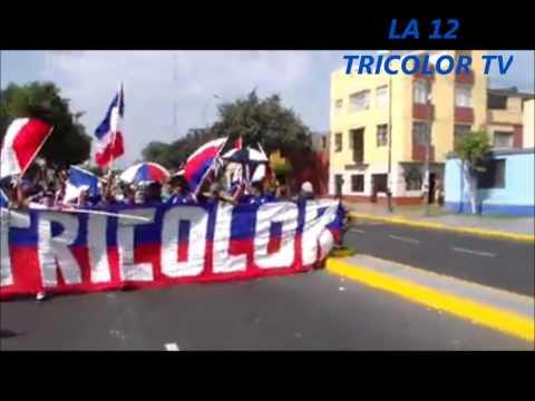 """""""LA 12 TRICOLOR TV: LA 12 TRICOLOR Y NUEVA TRICOLOR CAMINATA MANNUCCI VS WALTER ORMEÑO"""" Barra: La 12 Tricolor • Club: C.A. Mannucci"""