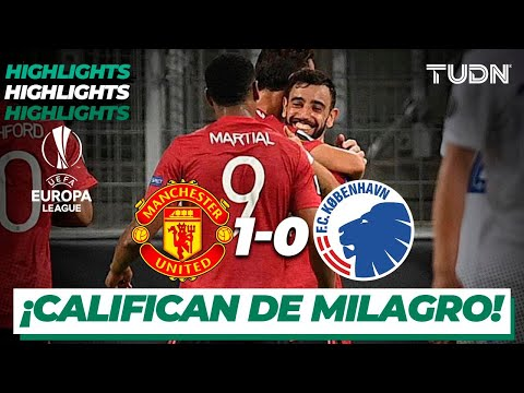Highlights | Man United 1-0 Kobenhavn | Europa League 2020 – 4tos final | TUDN