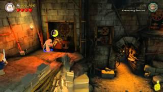 Lego The Hobbit: Level 14 The Necromancer - FREE PLAY (All Minikits, Treasures & Design) - HTG