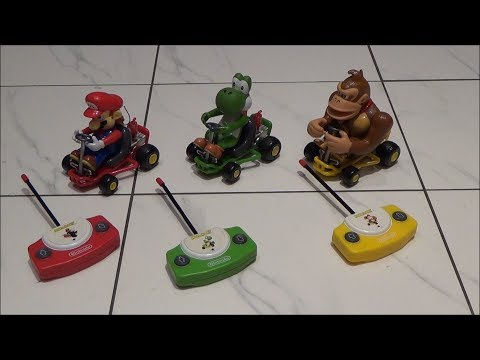 Trying to FIX a Joblot of Nintendo Mario Kart RC cars