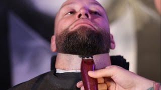 Мастер класс по оформлению бороды(Формирование границ бороды)
