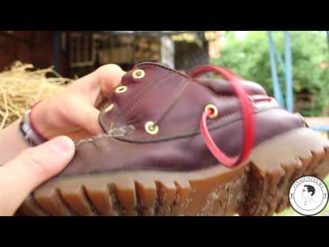INSIGNITUM Bunte Lederschnürsenkel für Bootsschuhe
