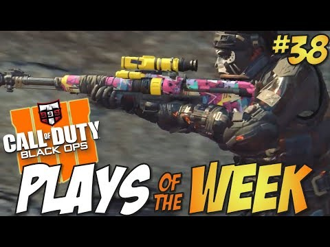 GOD MODE!! - Call of Duty Black Ops 4 PLAYS OF THE WEEK #38