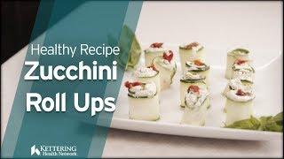 Recipe: Zucchini Roll Ups