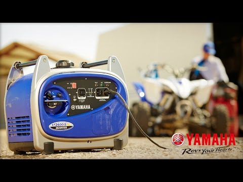 Yamaha EF3000iS Generator in Fayetteville, Georgia - Video 1