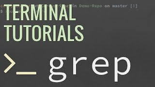 Linux/Mac Terminal Tutorial: The Grep Command - Search Files and Directories for Patterns of Text