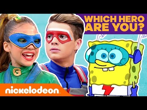 Which Nick Hero Are You? ⭐ Personality Quiz   #KnowYourNick