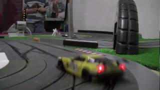 SLOT CAR CRASHES