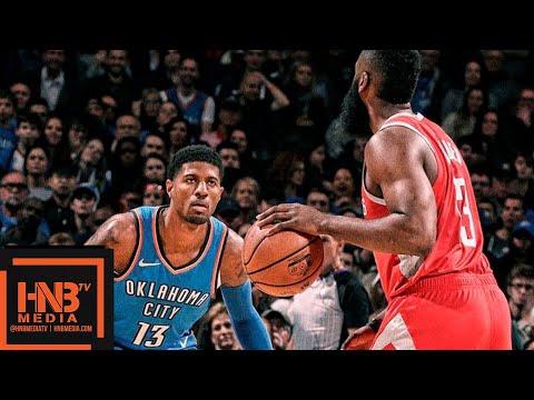 Houston Rockets vs Oklahoma City Thunder Full Game Highlights | 11.08.2018, NBA Season онлайн видео