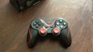 Red Samurai Bluetooth Game Controller for Android Unboxing and Review