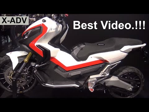 The Honda X-ADV Off Road Scooter 2018 - Best Video.!!!