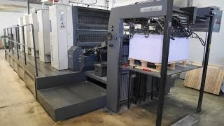 MAN Roland 704 3B LV (HIPrint) - used printing machine for sale