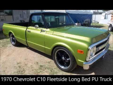 Video of Classic 1970 Chevrolet Fleetside - $44,500.00 Offered by Old Iron AZ LLC - N1DG