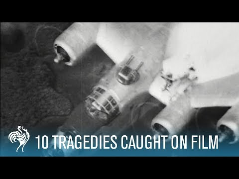 Ten More Disasters Caught On Film Gripping Pathe News