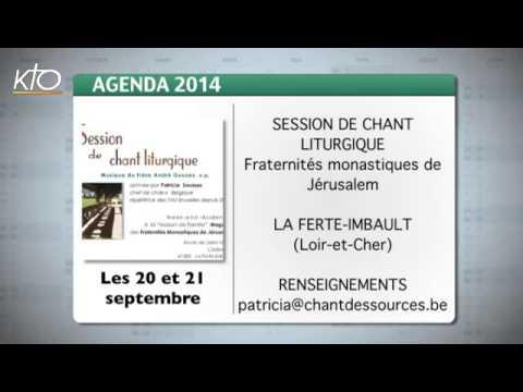 Agenda du 5 septembre 2014