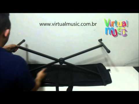 Bag Bolsa Transporte Suporte Teclado - www.virtualmusic.com.br