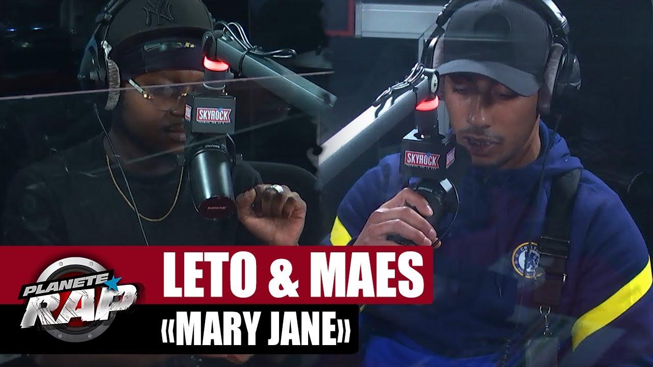"[EXCLU] Leto feat. Maes ""Mary Jane"" #PlanèteRap"