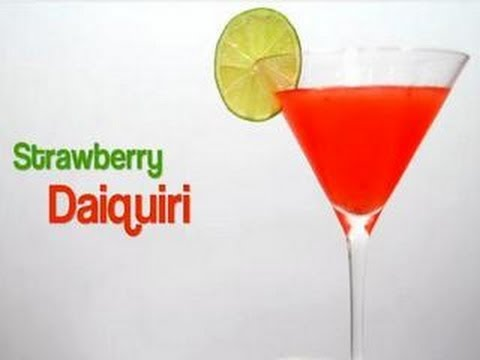 Πως να φτιάξετε Strawberry Daiquiri