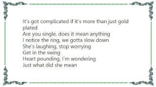 Chris Isaak - Notice the Ring Lyrics