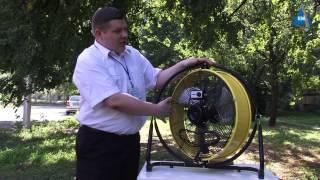 Промышленный вентилятор Master DF 20P от компании ПКФ «Электромотор» - видео