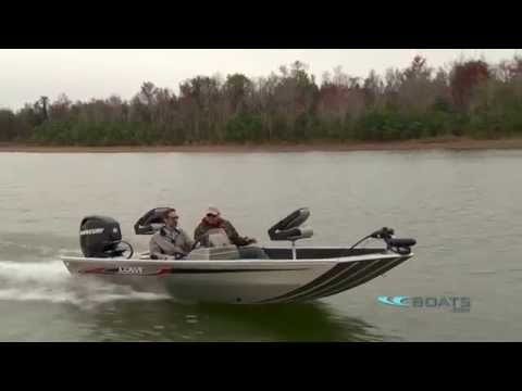 Lowe Stryker Aluminum Fishing Boat Review / Performance Test