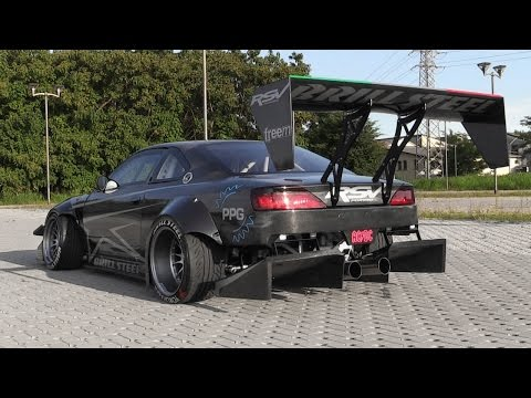 The Demon On 4 Wheels: Brill Steel' Carbon V8 S14.5 - Overview, Start Ups & Revs