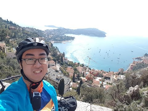 Monte Carlo (Monaco) to Nice (France) by bike - March 2018