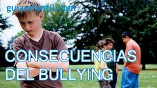 Consecuencias del acoso escolar para el acosado