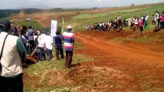 preview picture of video 'Steve Mwangi Navigated By S Nyorri in a Subaru Impreza N10 No 50 during the KCB Kiambu Rally 2014'