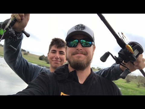 Frog vs Buzzbait challenge with Peric and Lunkerstv